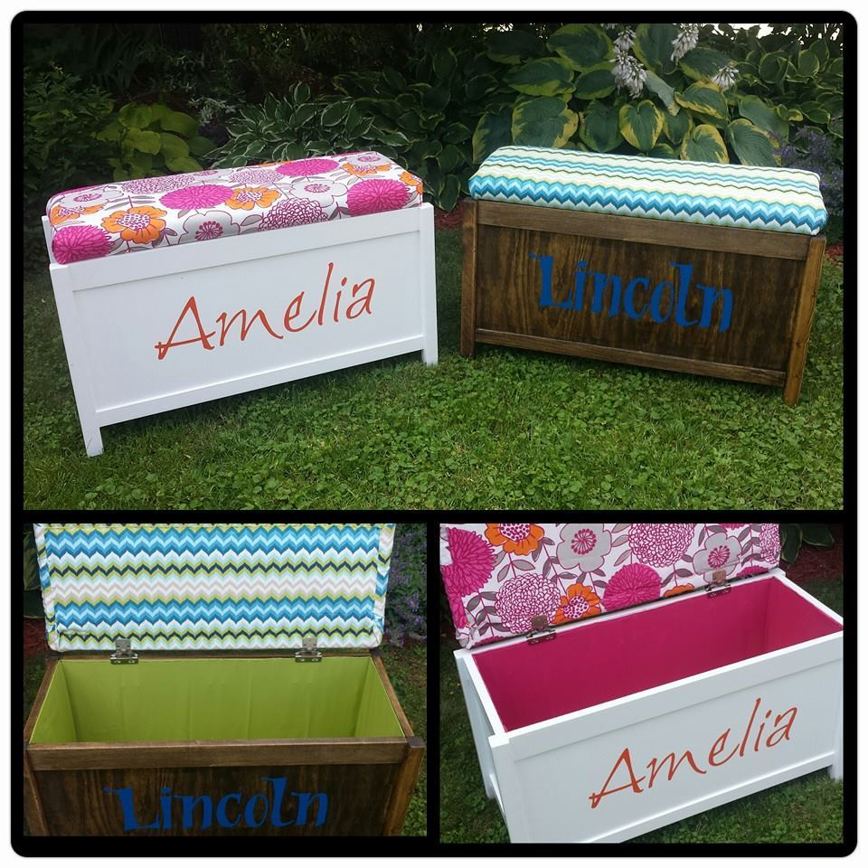 Ana White | Upholstered Toy Chest - DIY Projects