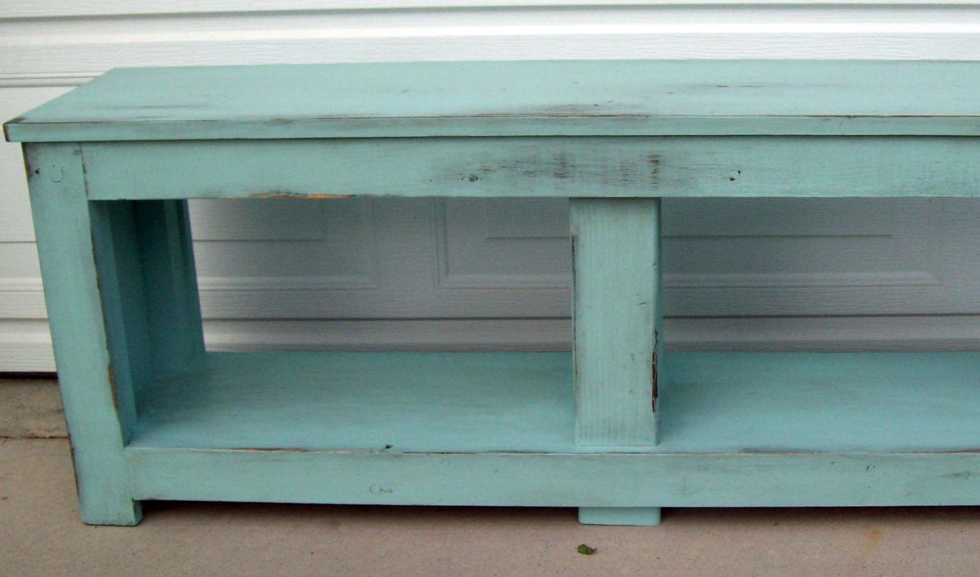 Ana White Aqua Spa Bench For Entry Diy Projects