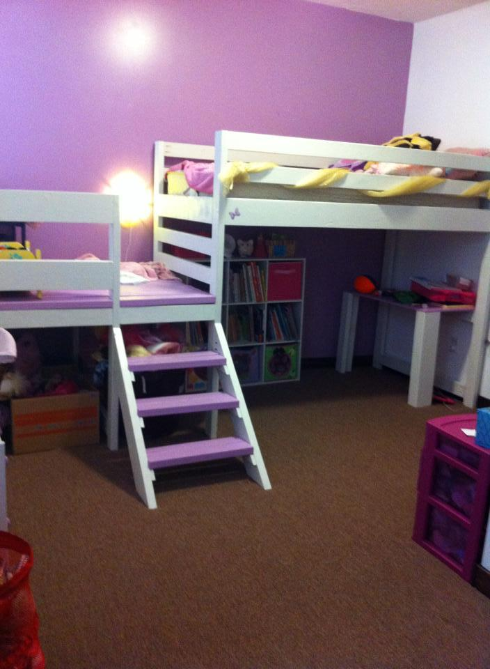 Built In Bed For Kids Room: Camp Loft Bed - DIY Projects