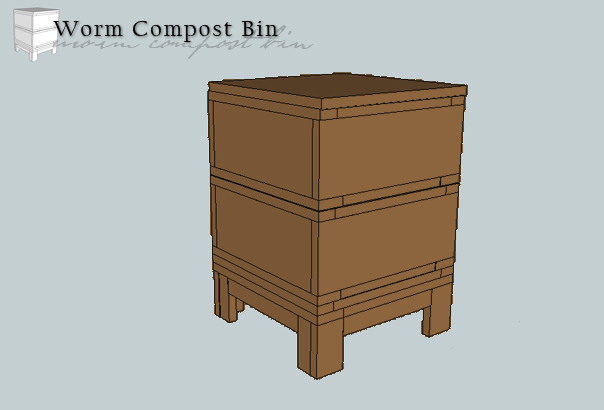 Worm Compost Bin - DIY Projects