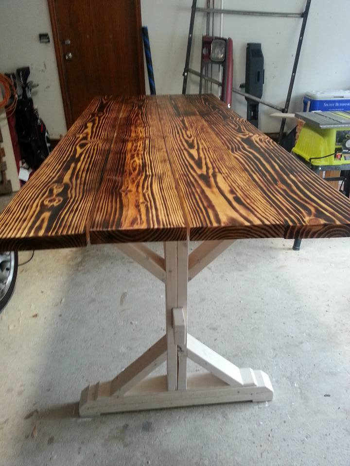 Ana White Burnt X Farm Table Diy Projects