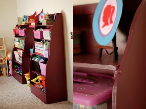 kids bookshelves different depths
