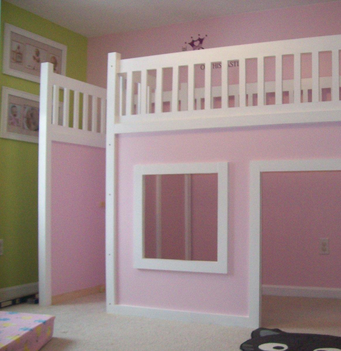 Build a Storage Stairs for the Playhouse Loft Bed | Free and Easy DIY ...