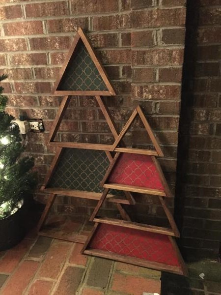 Ana White 1x2 Christmas Trees Diy Projects