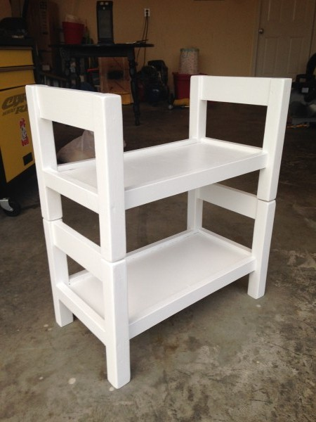 Ana White Modified Doll Bunk Bed Diy Projects