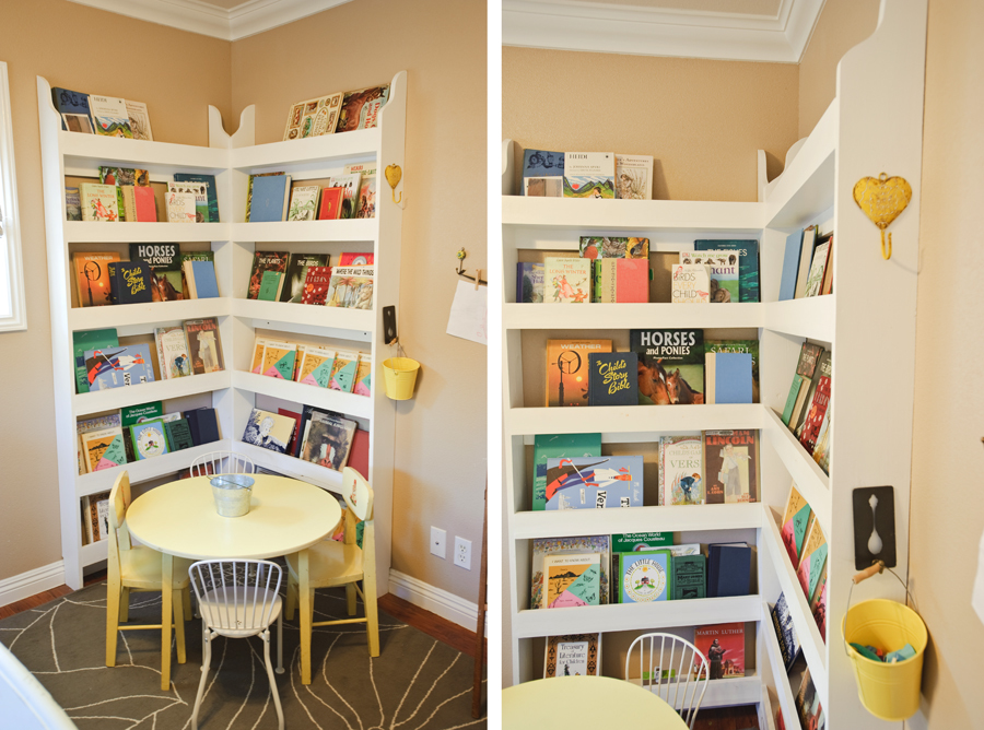 Ana white perfect bookshelves diy projects for Book shelf for kids room