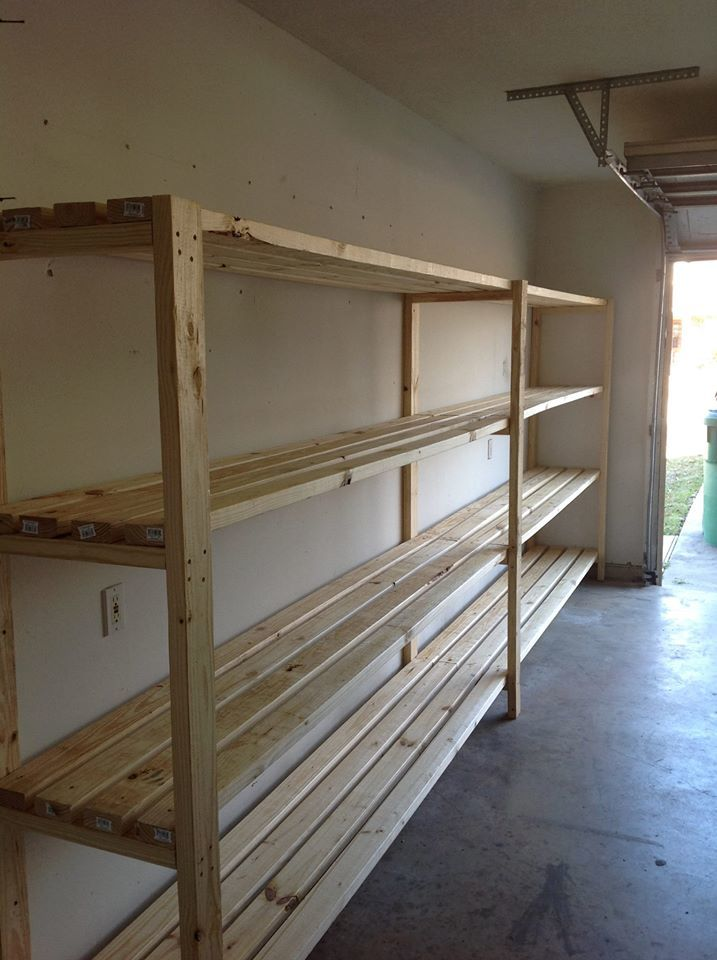 Diy garage storage favorite plans ana white woodworking for Garage plans with storage