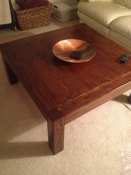 Coffee Table - DIY Projects