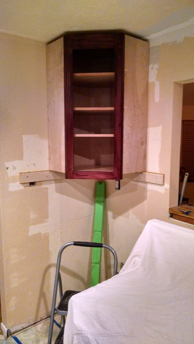 Ana White Inside Corner Wall Cabinet Diy Projects