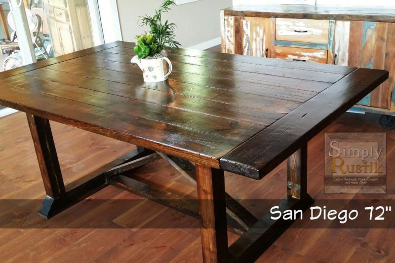 Incredible Wood Kitchen Table