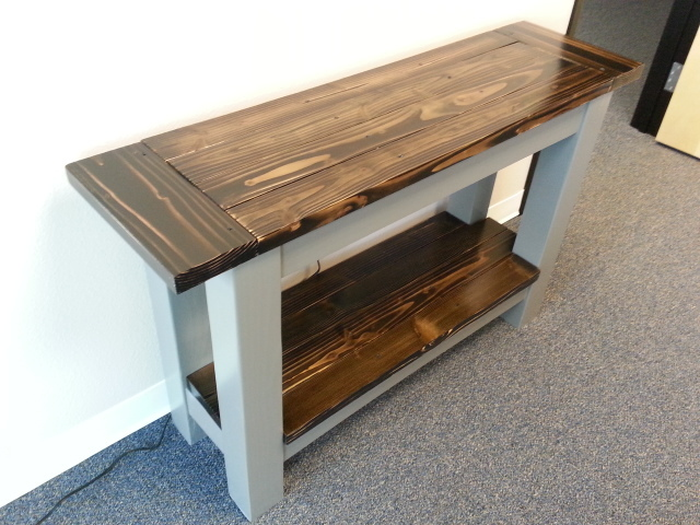 Tryde Console Table - DIY Projects