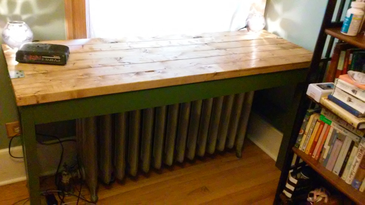 Ana White Simple 2x4 Desk Diy Projects