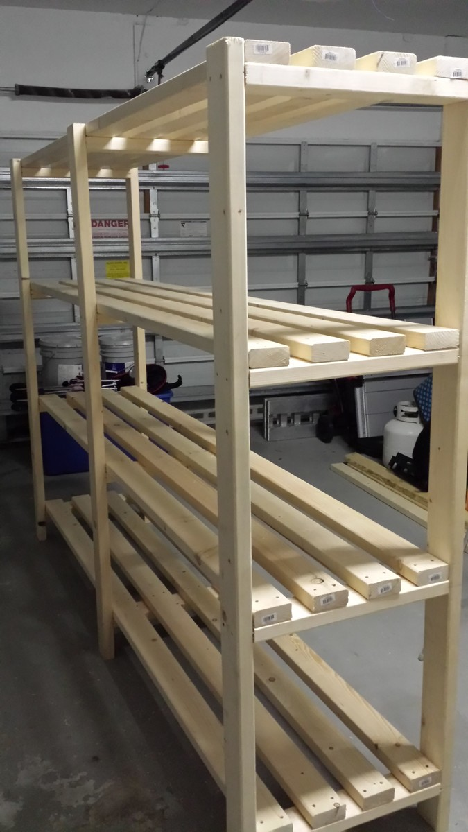 Ana white great plan for garage shelf diy projects for Garage building ideas