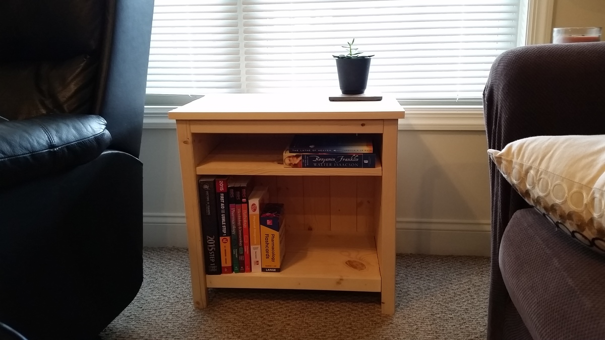 and custom storage quality repurposed antique hand in end previous fullsizeoutput vintage table footboard hampshire bookshelf new projects waxed side rails made furniture as