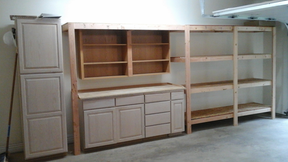 I Already Have Several Other Projects Want To Build Around The House Because Of This Site Thank You So Much Garage Shelves By Queequeg