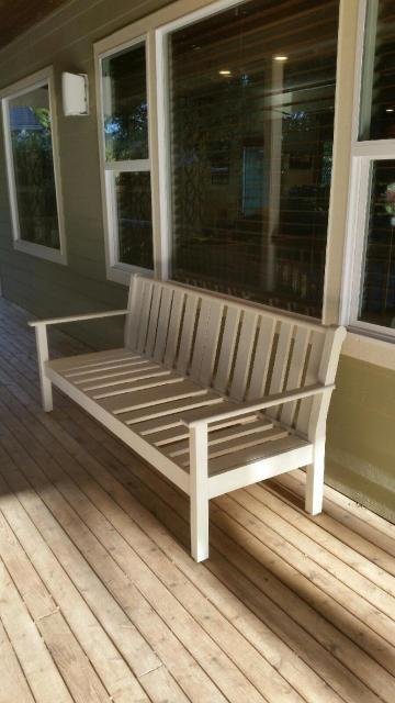 Ana White Front Porch Bench Diy Projects