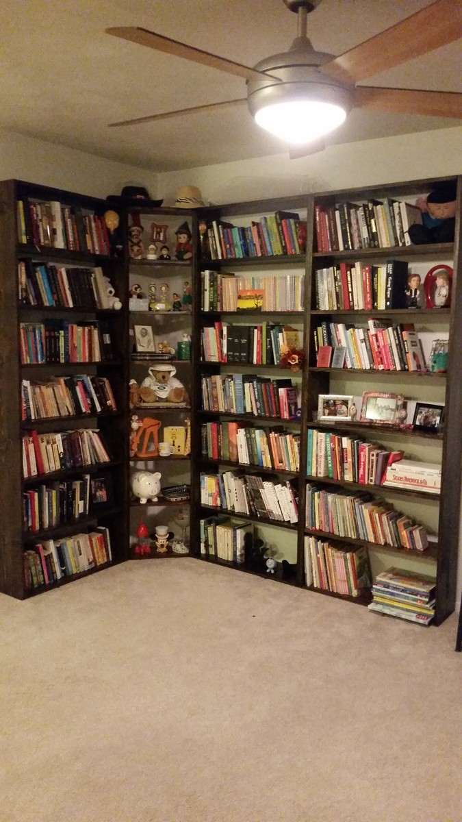 Ana White Bookcase Wall Unit Diy Projects