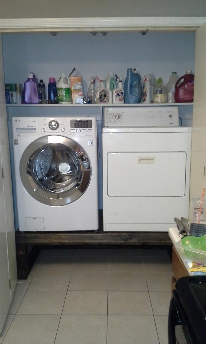 Washer Dryer Pedestal Custom Ana White