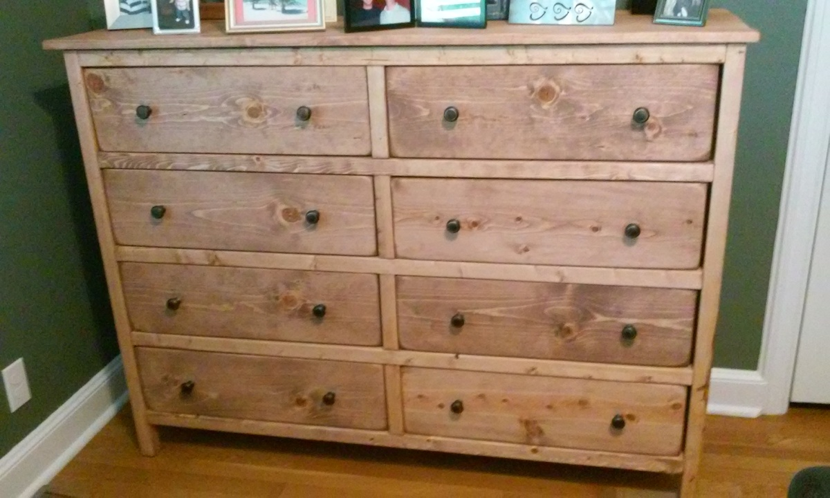 ana white modified reclaimed wood look bedside dresser diy projects