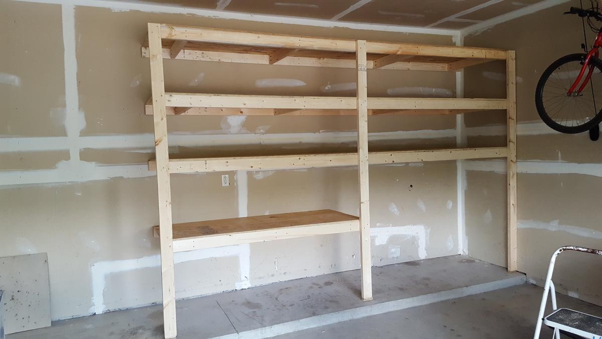 Garage Shelves Ana White