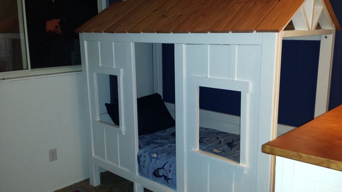 Ana White Jake S Beach Cabin Bed Diy Projects