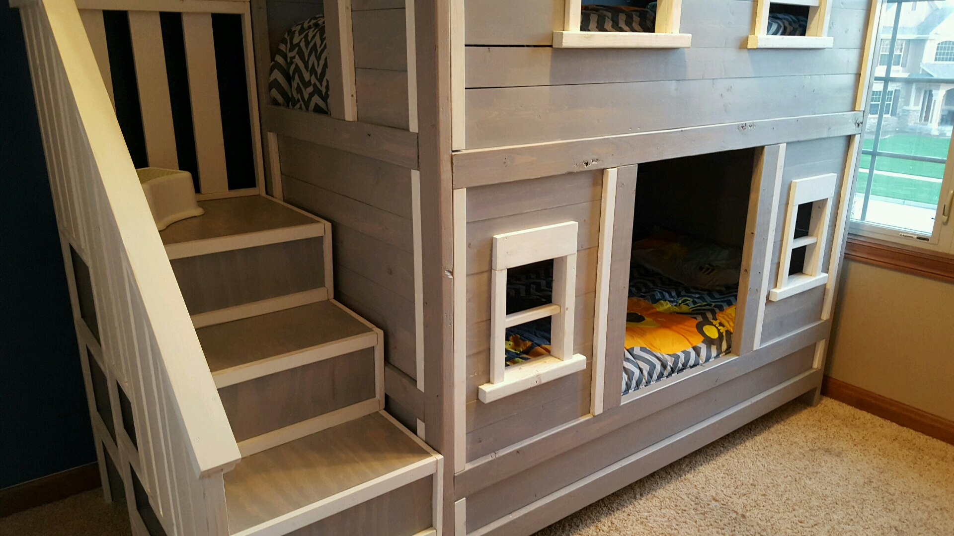 Sweet Pea Bunk Bed For Boys Ana White