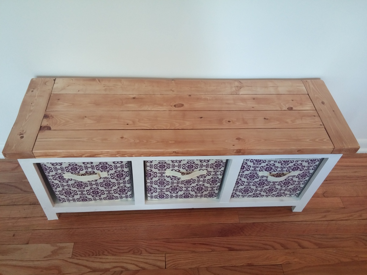 ana white three cube bench diy projects