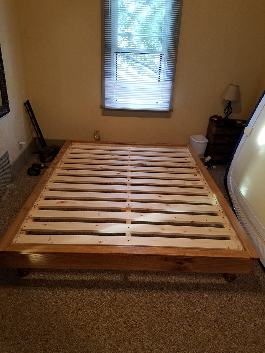 Ana White   Hailey Platform Bed - Queen - DIY Projects