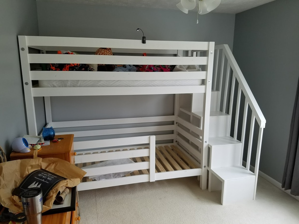 Ana White Classic Bunk Beds Re Imagined With Stairs