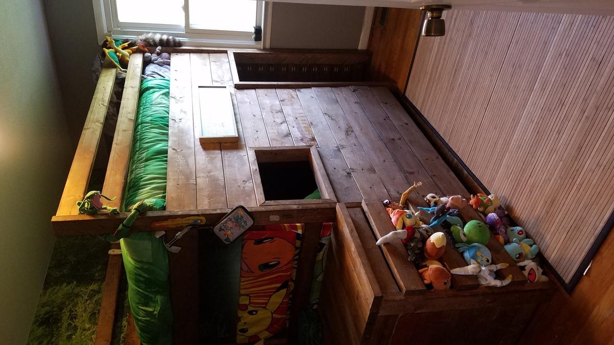 Camp Loft Bed Mod Ana White