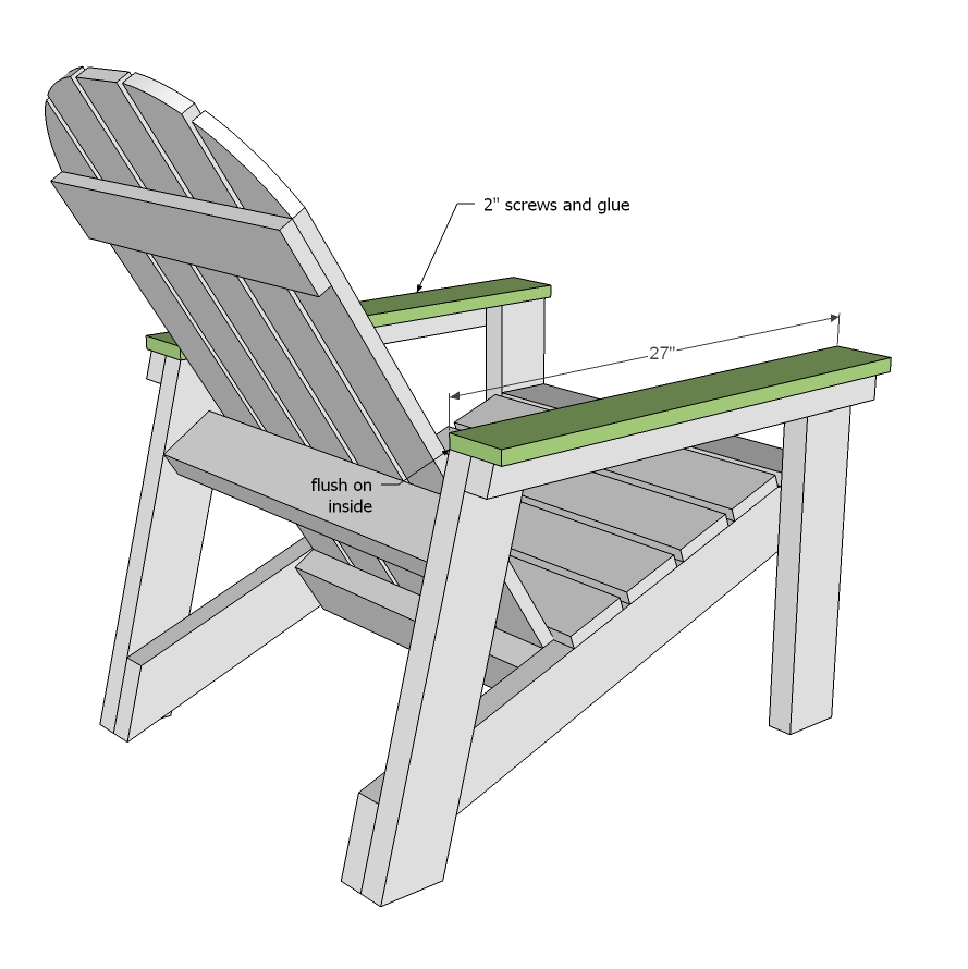 Brilliant 2X4 Adirondack Chair Plans Anas Favorite Ana White Complete Home Design Collection Papxelindsey Bellcom
