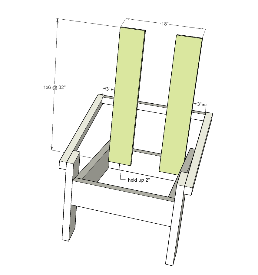 Modern Adirondack Chair Ana White