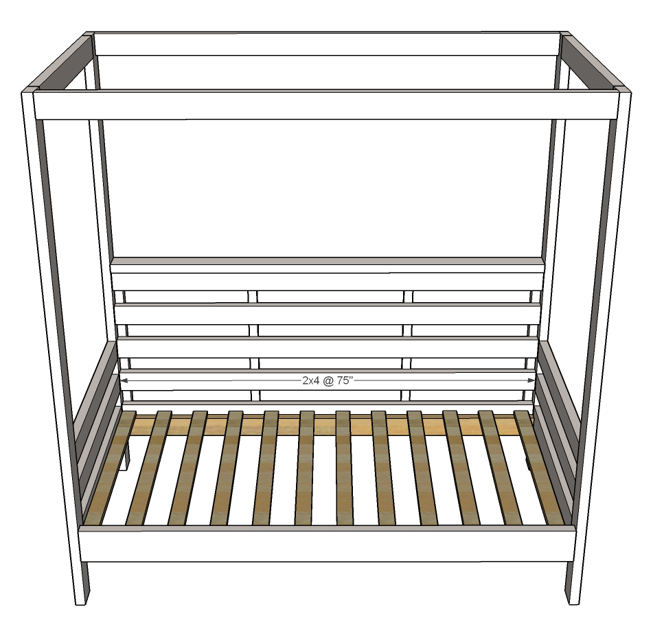 - Outdoor Daybed With Canopy Ana White