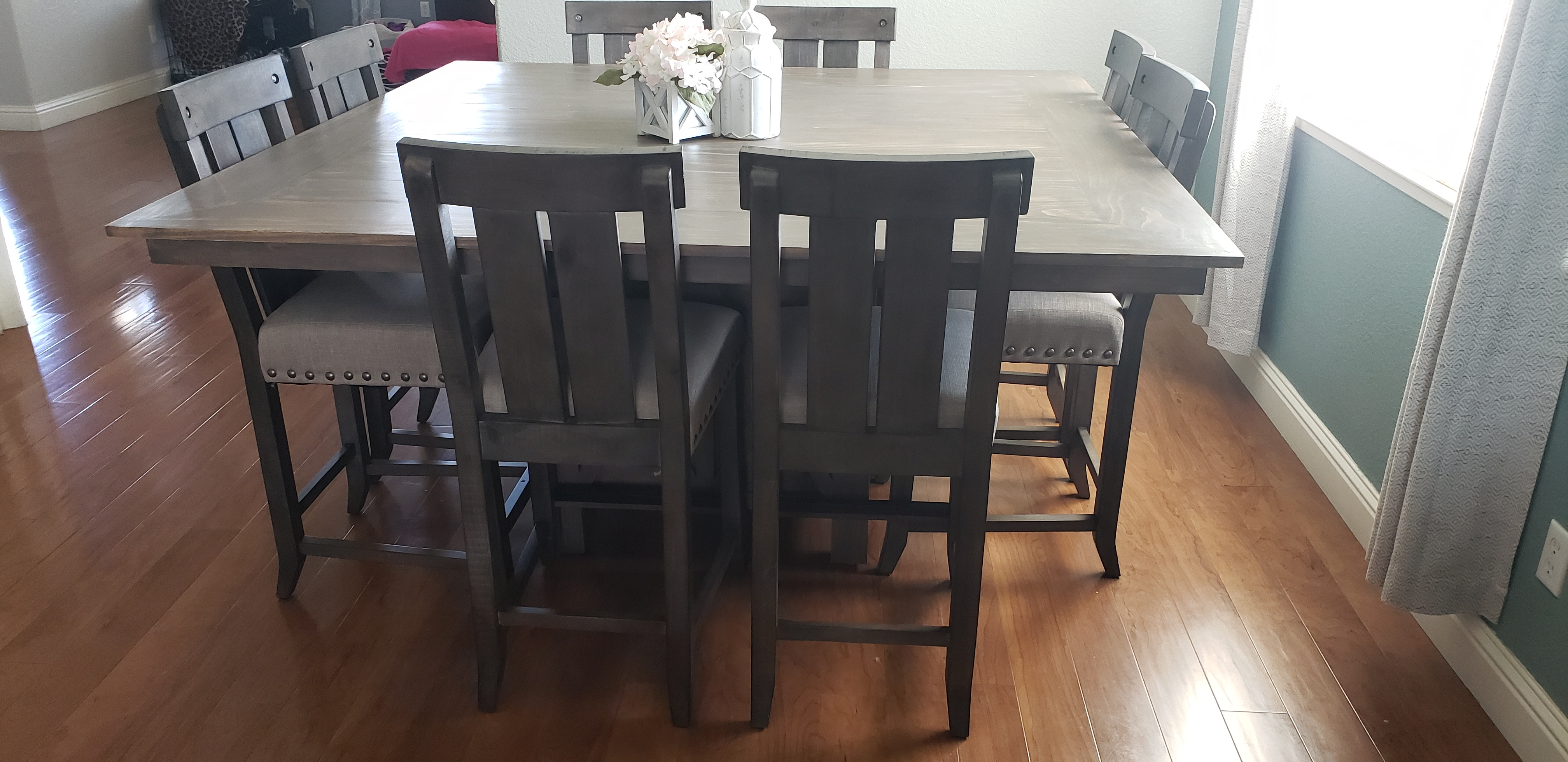 Square Dining Table With Storage Ana White