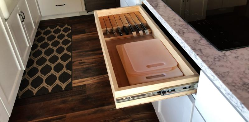 add a drawer in your kitchen