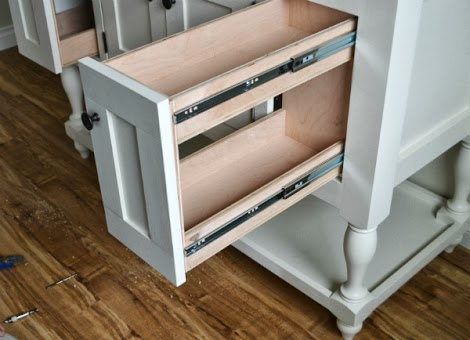 pull out cabinet doors