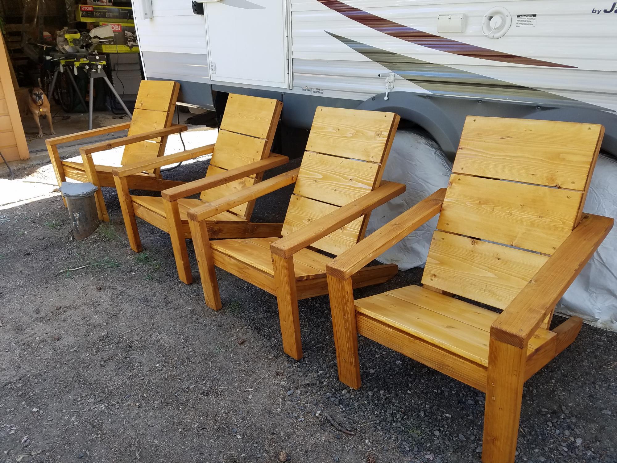 Ana S Adirondack Chairs My Wife Loves Them Ana White