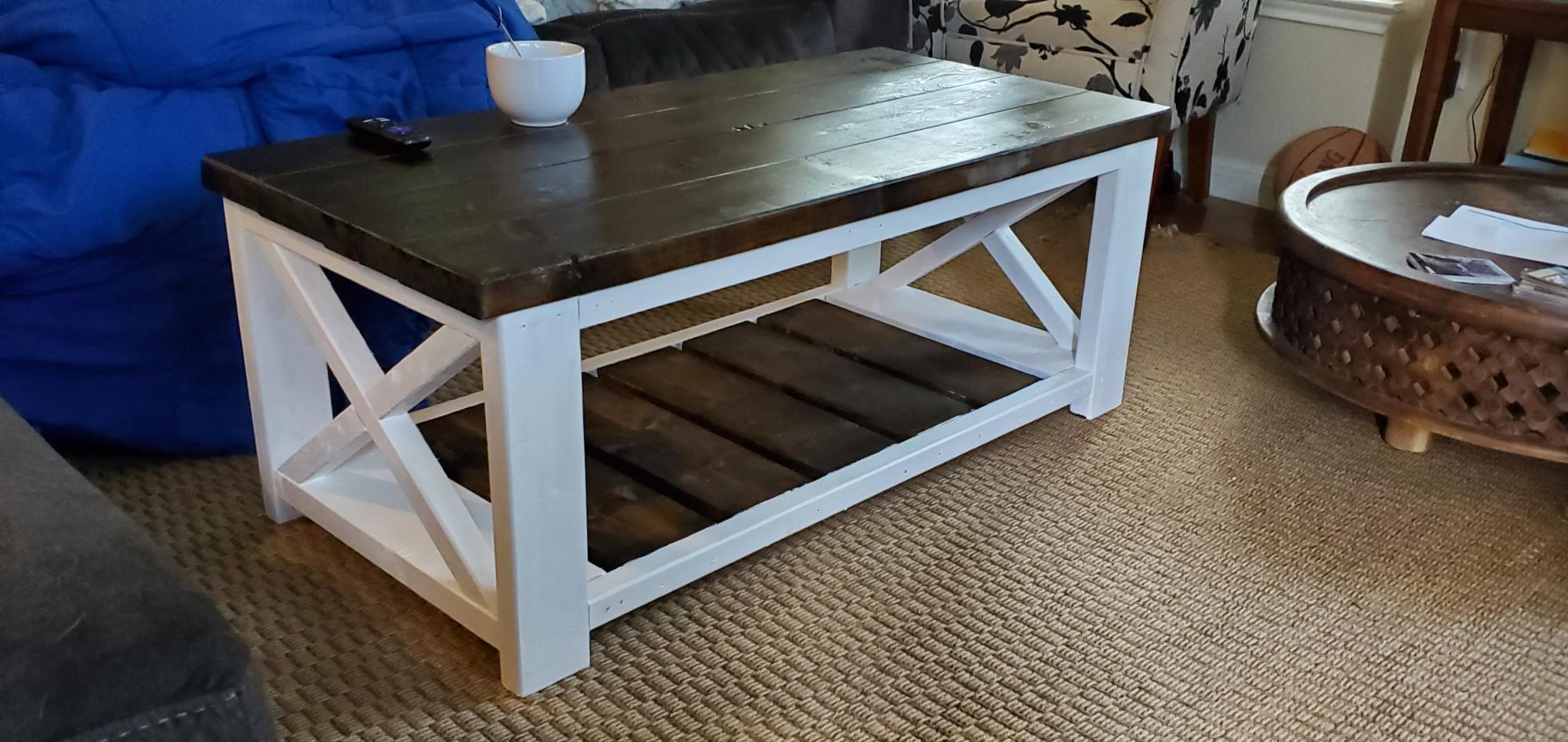 Farmhouse Coffee Table Ana White
