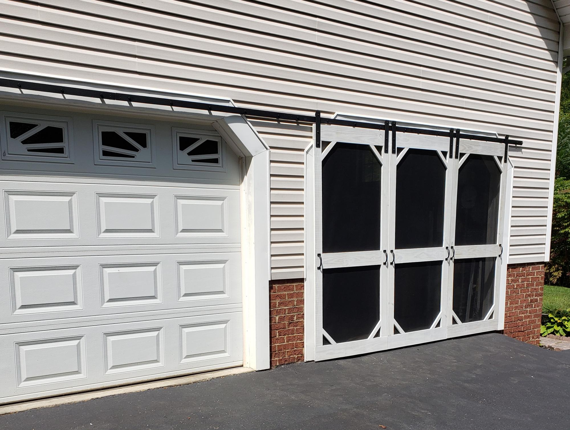 Garage Sliding Screen Doors Ana White