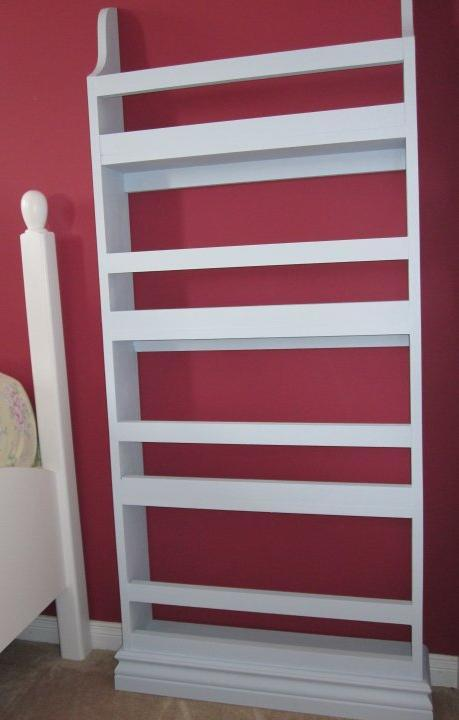 ana white flat wall book shelves diy projects - Kids Wall Bookshelves