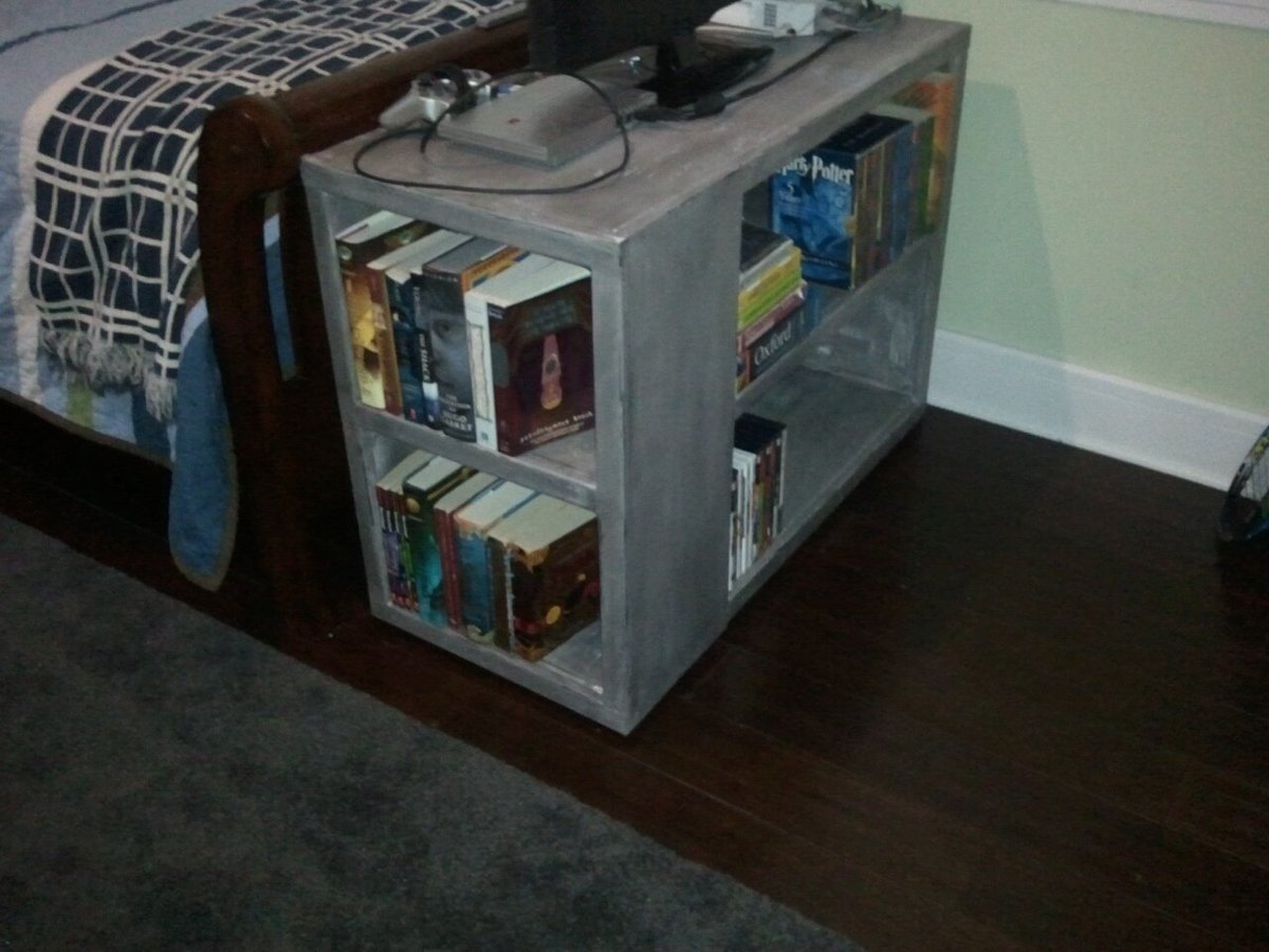 Ana white modified modular bookcase diy projects for Diy modular bookcase