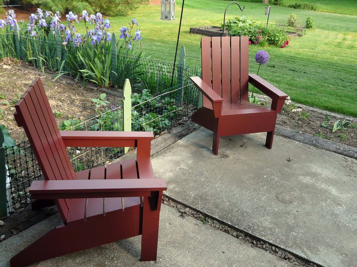 This Do It Yourself Project Plan To Build A Diy Adirondack Chair Is Simple And Easy Inspired By Polywood Furniture Your Own Affordable