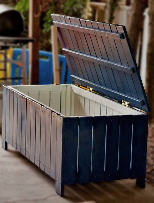 ... Outdoor Storage Bench | Free and Easy DIY Project and Furniture Plans