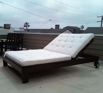Outdoor Chaise Lounge. Plans Are For A Single Lounger, But Can Be Easily  Modified, As One Of Our Readers Did, To A Double. Featuring No Special  Hardware, ... Part 89