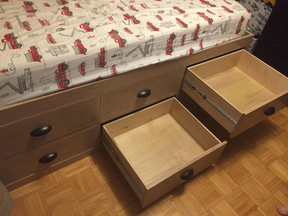 Captains Bed With Drawers Ana White