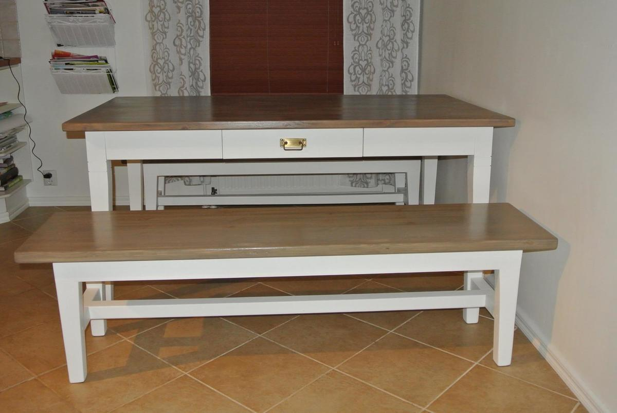 Ana white table farmhouse benches diy projects for Ana white table bench