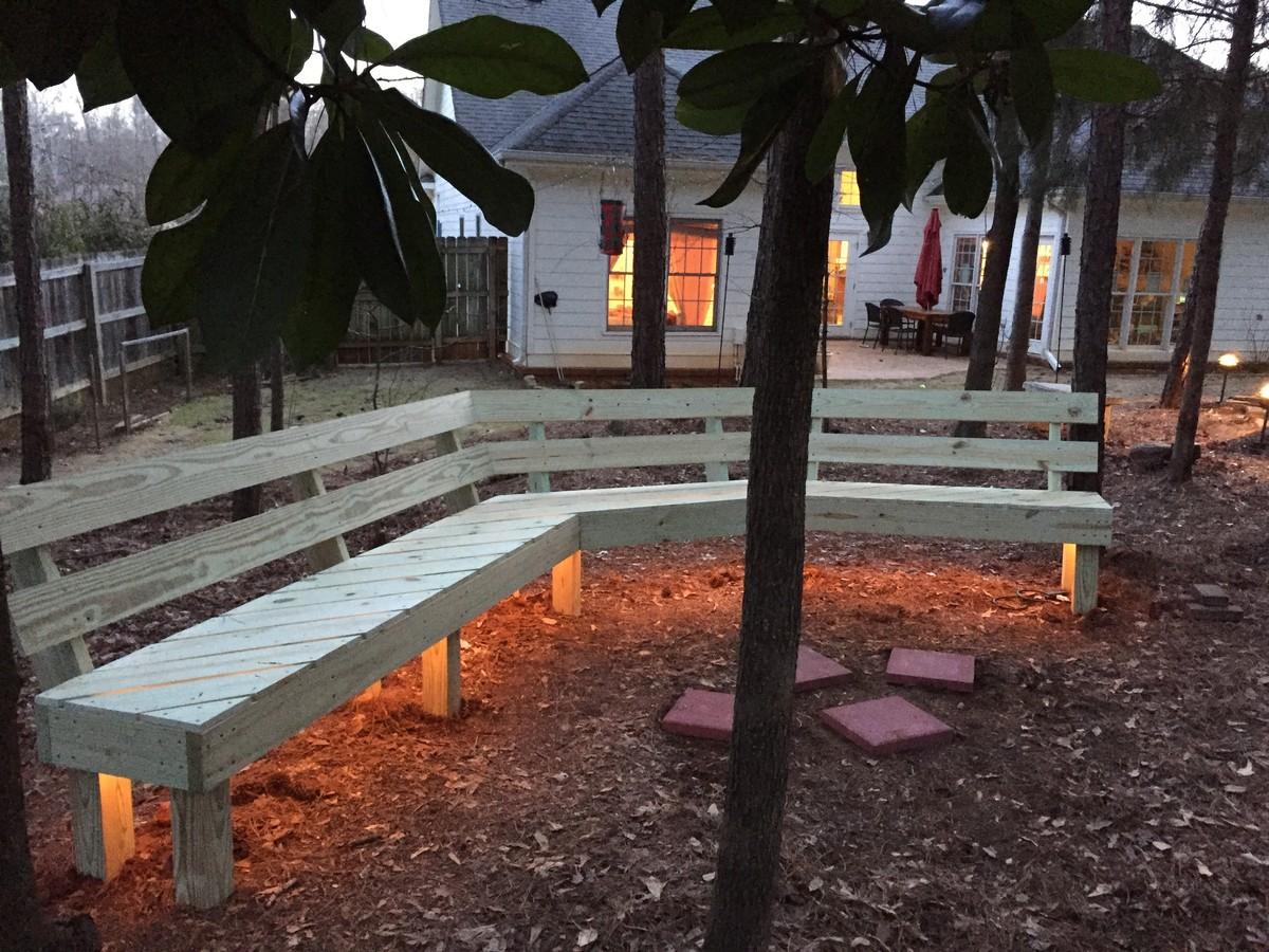 Fire Pit Bench Ana White
