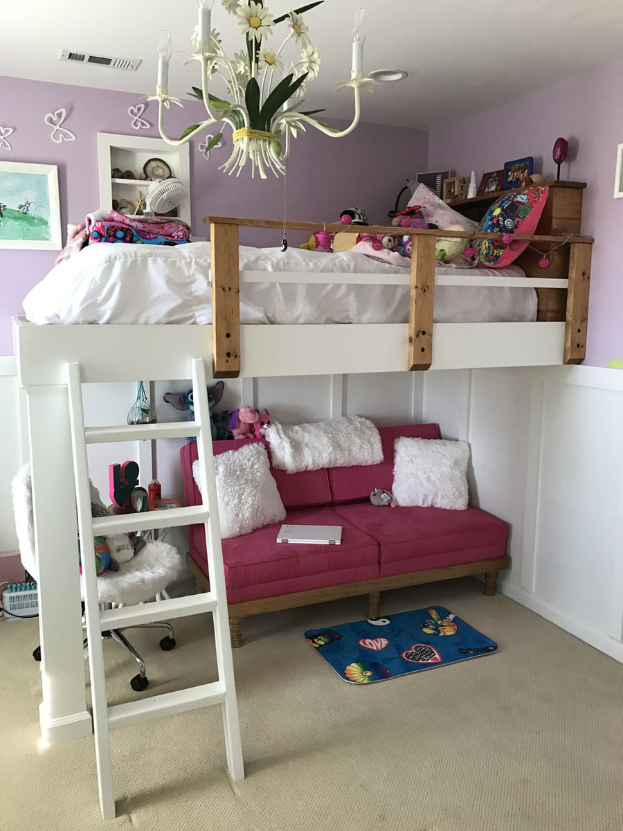 Ana White Kids Loft Bed Diy Projects