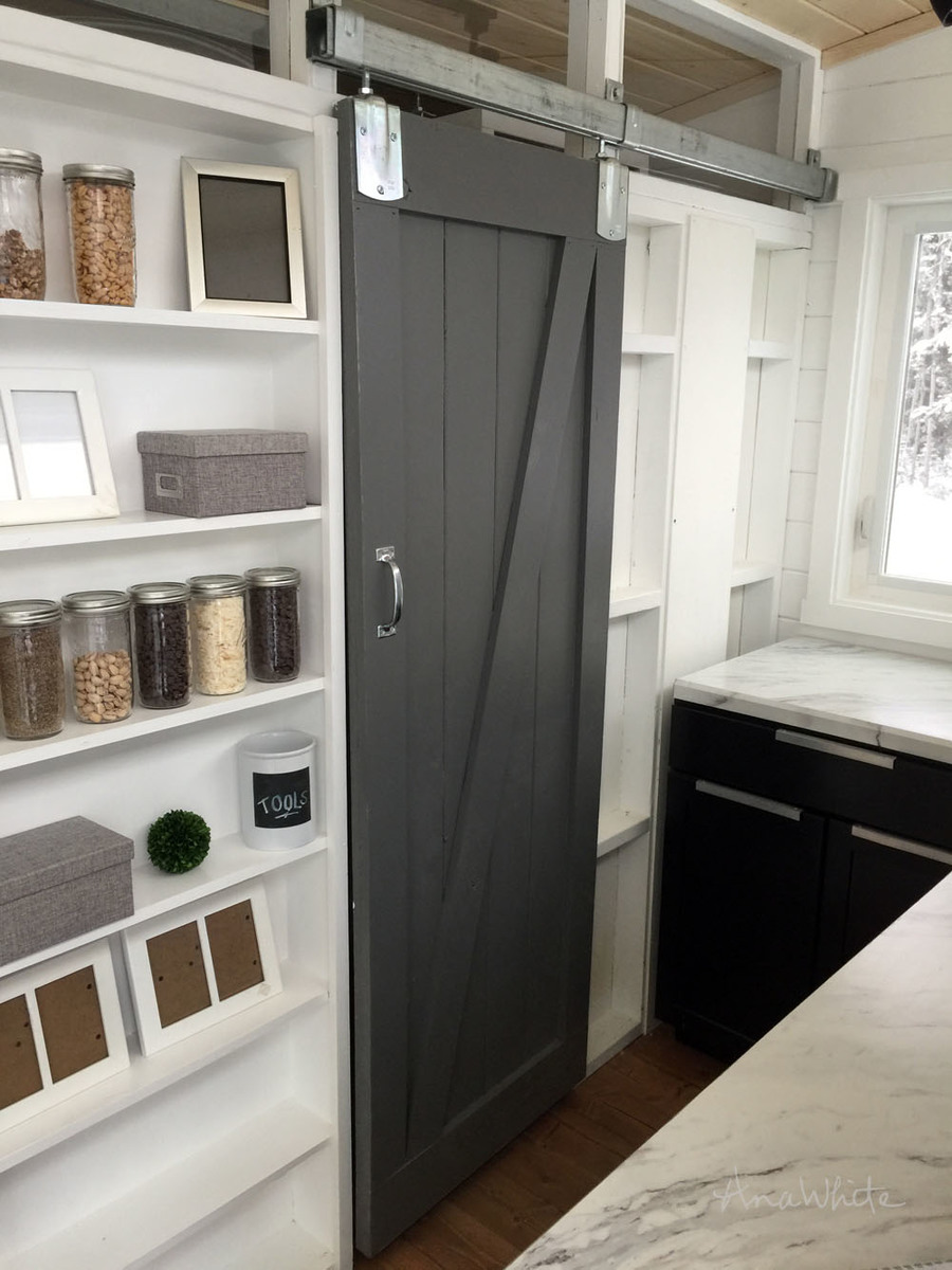 Ana White Diy Barn Door For Tiny House Diy Projects