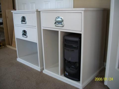 ana white build your own office narrow file drawer base unit diy projects build your own office